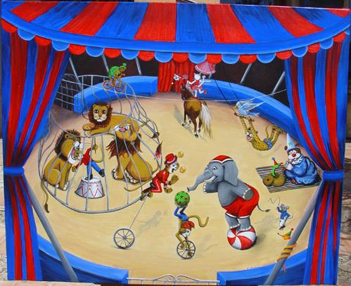 Dessin Decors Cirque